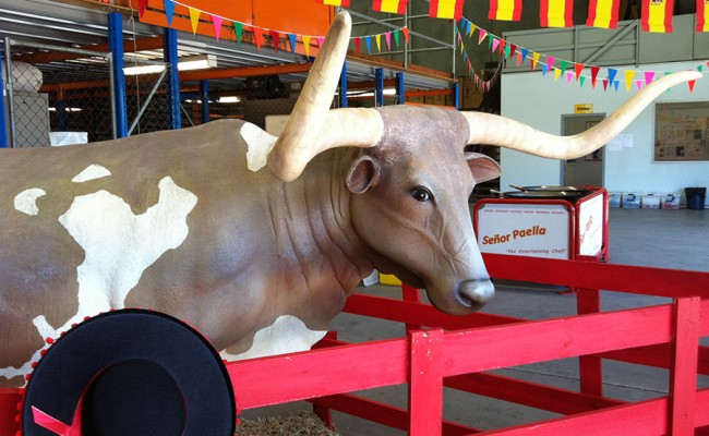 Bull at Señor Paella Catering