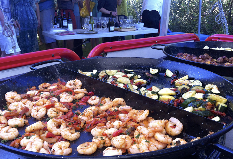 Make the most of your own personal chef with our Fiesta Tapas range. Hot dishes are cooked on site in front of your guests as a wonderful prelude to the main event!