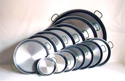 Authentic Spanish Paella Pans